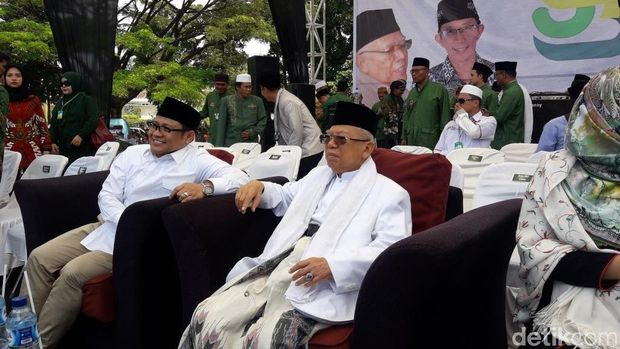 Ma'ruf Klaim 50 Persen Rakyat Indonesia NU: Solid Sampai Kiamat