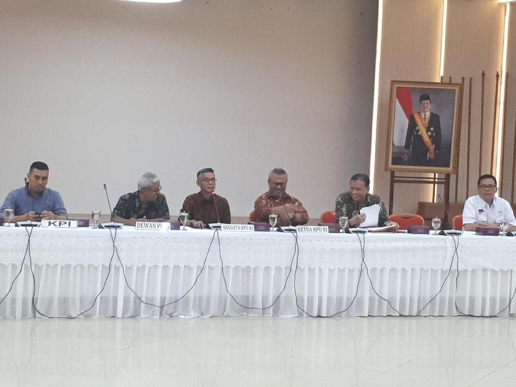 KPU Gelar Rapat Terkait Mekanisme Iklan Kampanye di Media