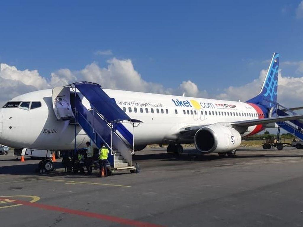 Bandara Silangit Kini Bisa Didarati Boeing 737-800 NG
