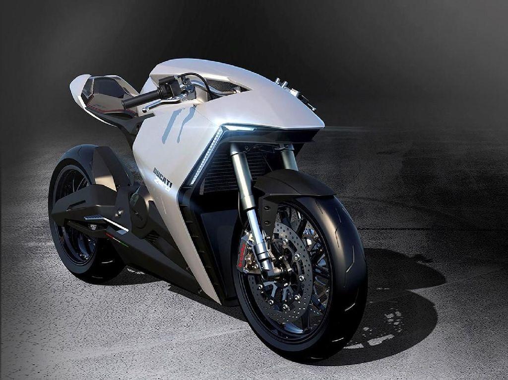 Motor Balap Listrik Ducati Nih!