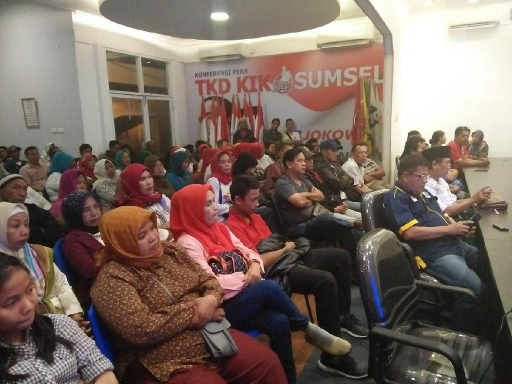 Ingin Salip Prabowo di Sumsel, Relawan Jokowi Kampanye Door to Door