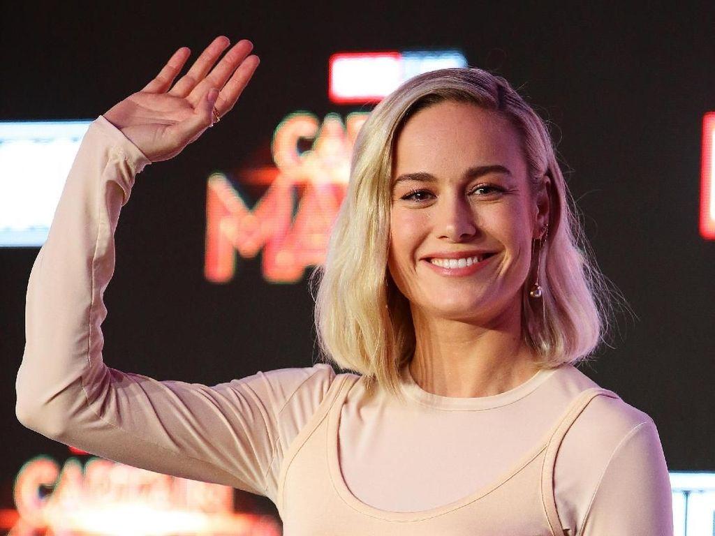 Jadi Jagoan Captain Marvel, Brie Larson Merasa Seperti Keanu Reeves