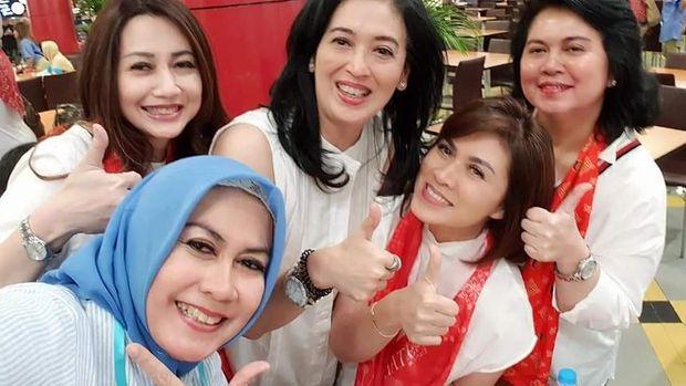Video 'Kemesraan' Pendukung Jokowi dan Prabowo Viral, Ini Faktanya
