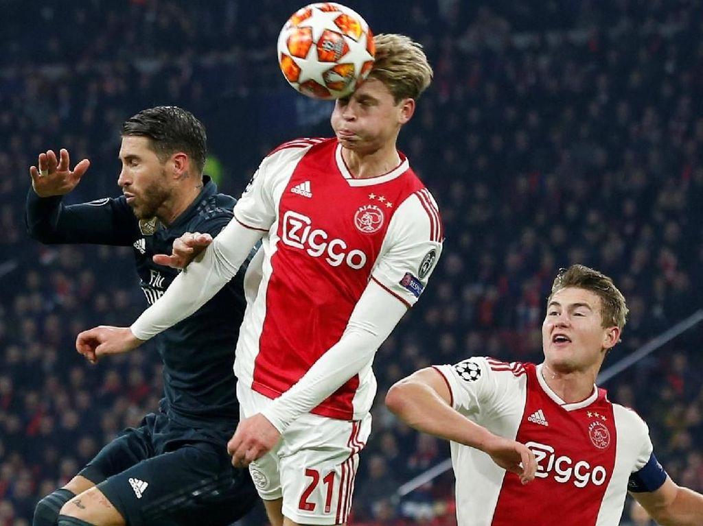 De Jong Penasaran Kualitas Juventus, Senang Ronaldo Batal Absen