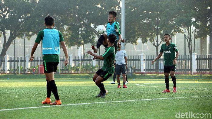Timnas Indonesia U-222 akan menjalani laga perdana dengan Myanmar di Piala AFF U-22. (Rengga Sancaya/detikSport)