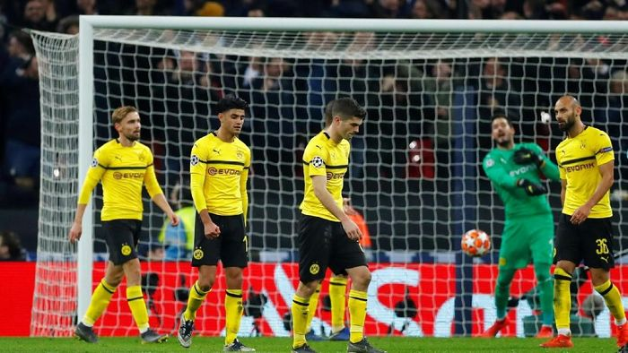 Borussia Dortmund takluk 0-3 di kandang Tottenham Hotspur (Eddie Keogh/REUTERS)