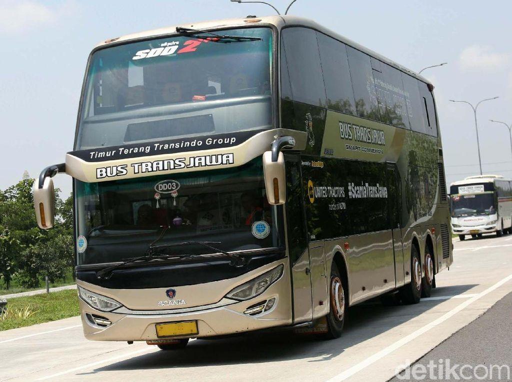 Cekidot! Bus Trans Jawa Rute Jakarta-Semarang-Solo