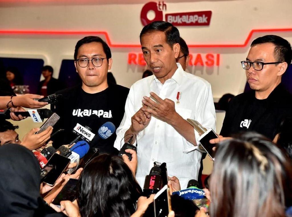Singgung Presiden Baru, Bos Bukalapak Minta Maaf ke Pendukung Jokowi