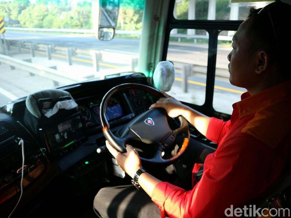 Kontrol di Rest Area, Satu Cara PO Bus Lihat Kondisi Pengemudi