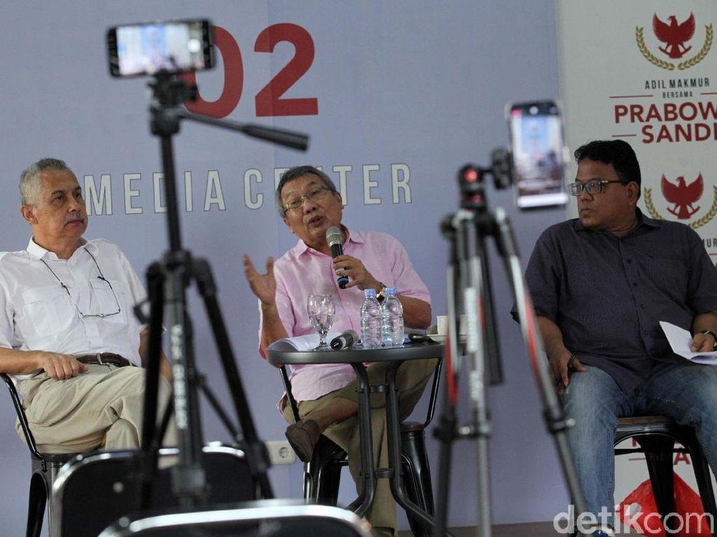 Jelang Debat Kedua BPN Prabowo-Sandi Gelar Diskusi