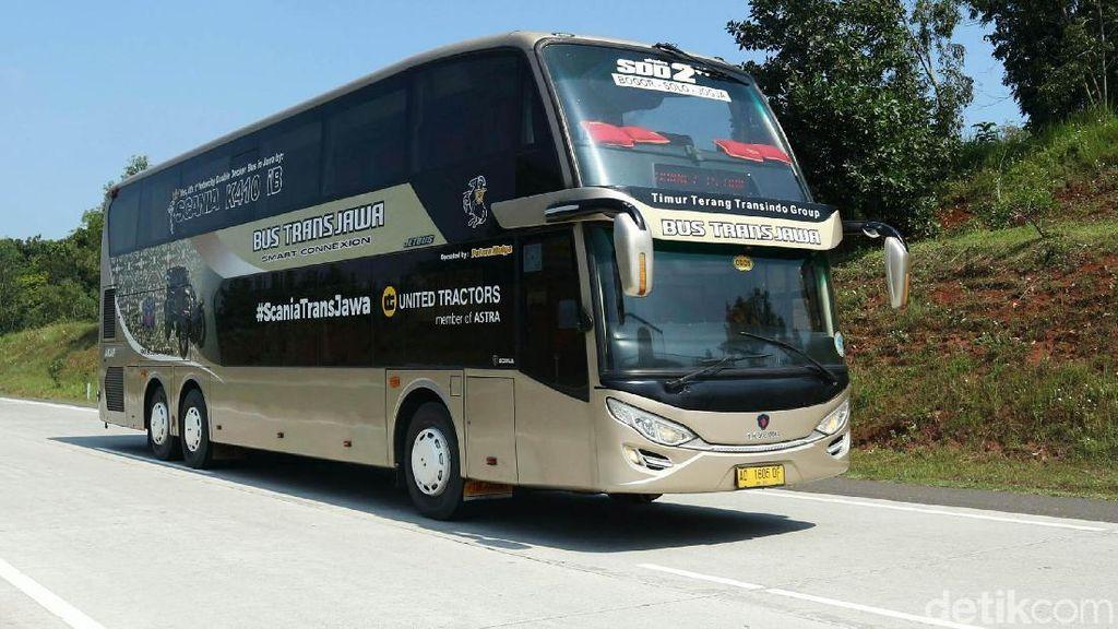 Bus Mewah Nan Nyaman ke Solo