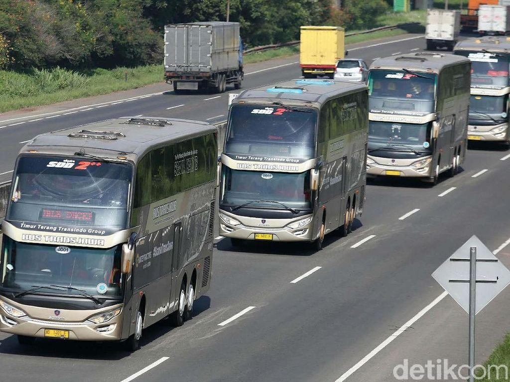 Bus Tingkat Trans Jawa Ini Aman dari Sopir Ugal-ugalan
