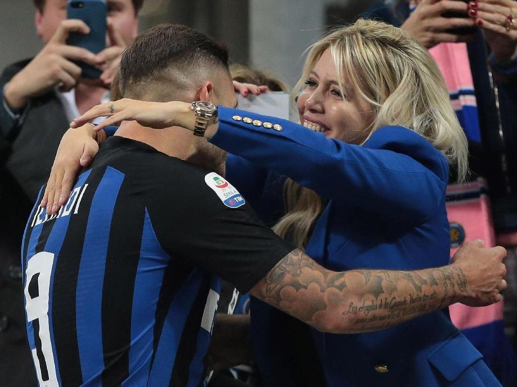 Wanda Nara Perjelas Masa Depan Icardi di Inter