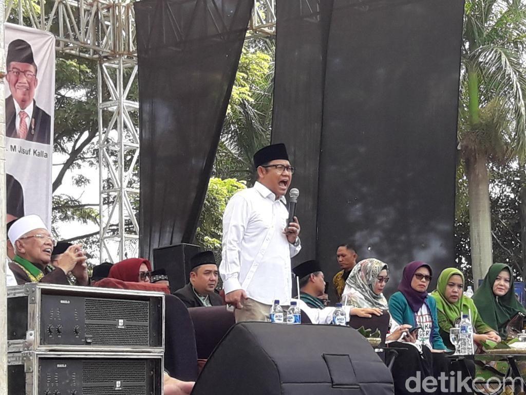 Cak Imin: Jabar Medan Paling Panas, Jokowi-Maruf Unggul 51 Persen