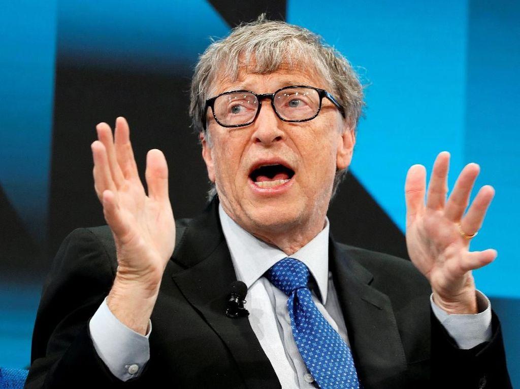 Diduga Teman Dekat Pedofil, Bill Gates Jadi Sorotan