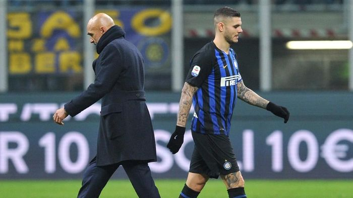 Saga Mauro Icardi disebut Luciano Spalletti membuat Inter Milan malu (Foto: Jennifer Lorenzini/Reuters)