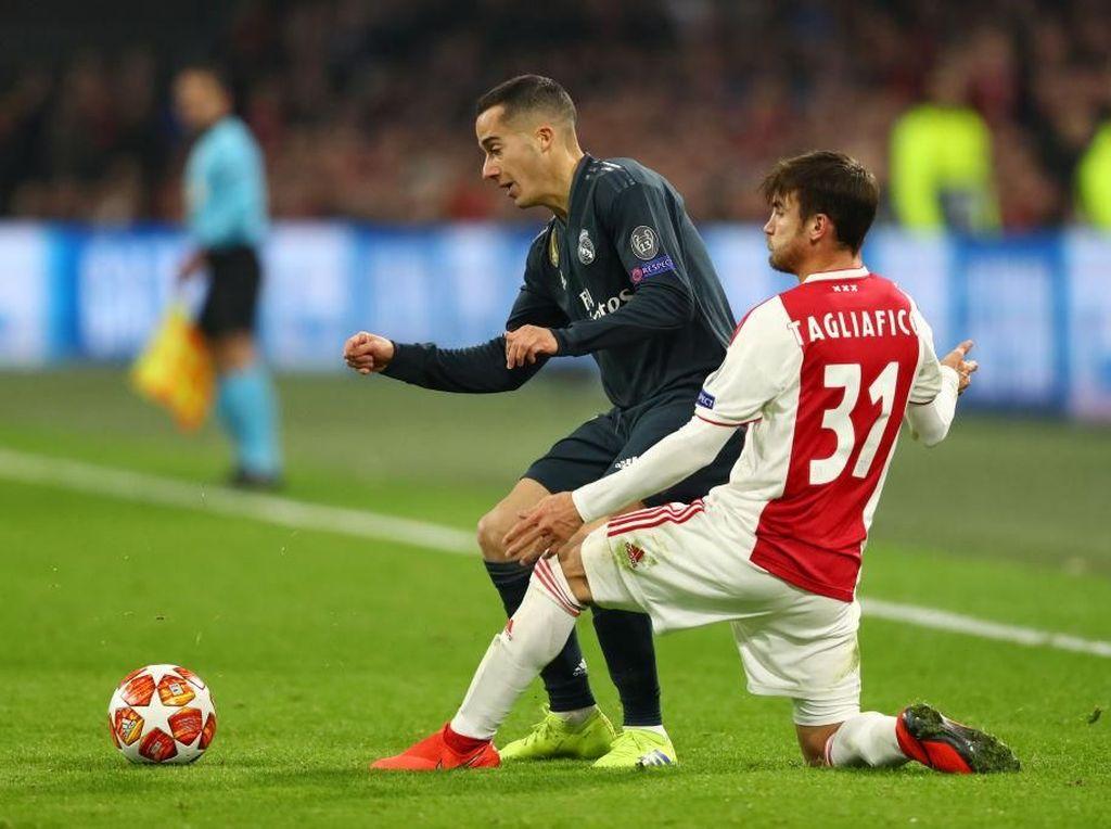 Solari Akui Madrid Susah Payah Taklukkan Ajax