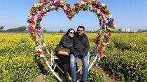 Romantis Banget! Rayakan Ultah di Swiss, Puput Dapat Surprise dari Ahok