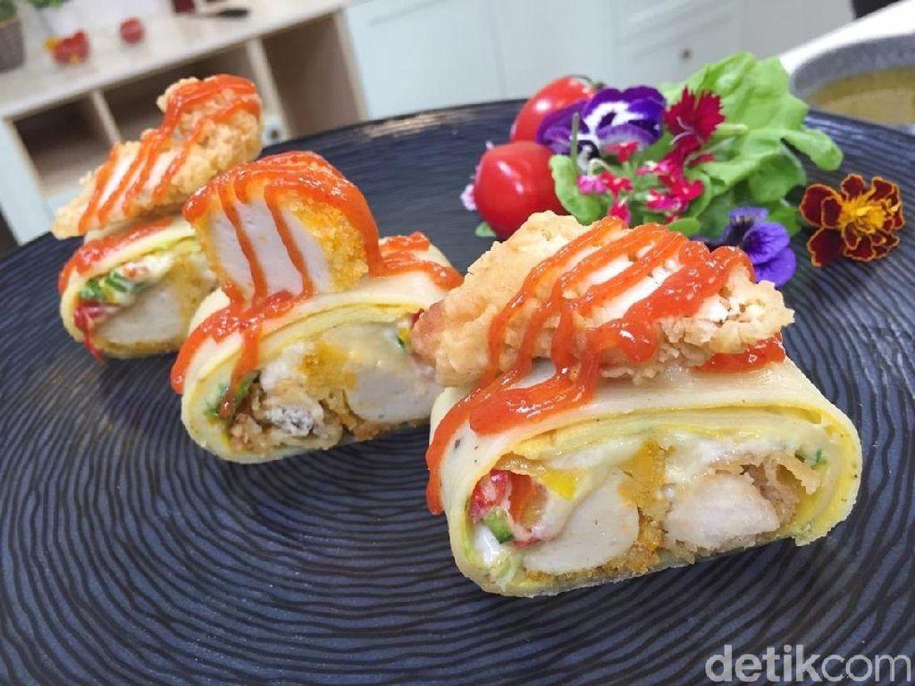 Resep Ayam : Delistripe Egg Wrap