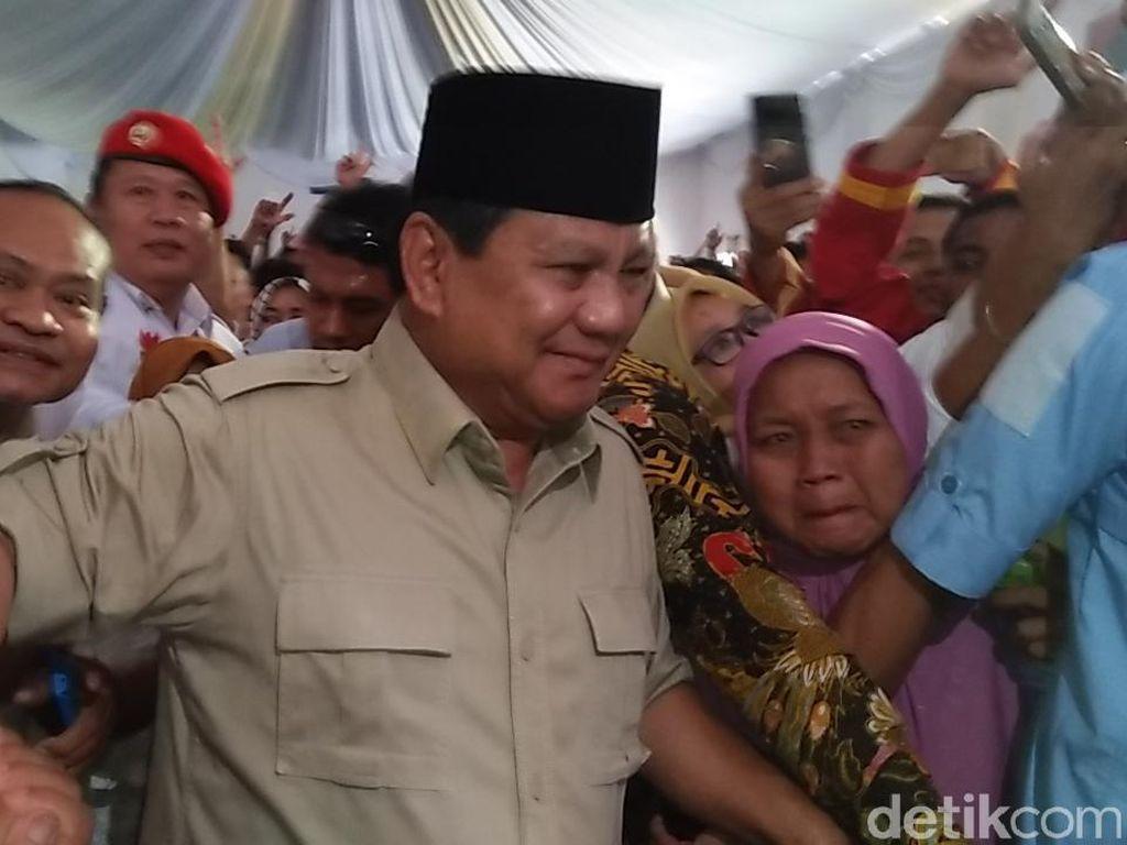 Sebut Elit Nyuri Uang, Prabowo: Proyek Rp 100 M, Dibikin Rp 300 M