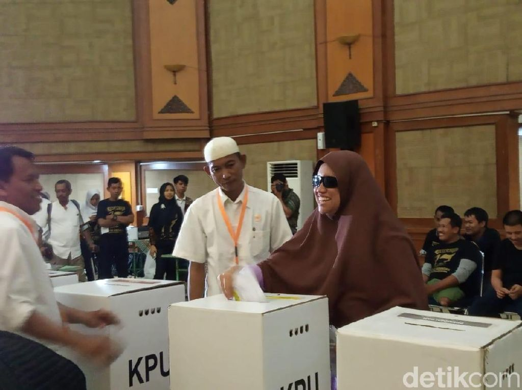 Simulasi Pemilu, Penyandang Disabilitas Masih Bingung Cara Nyoblos