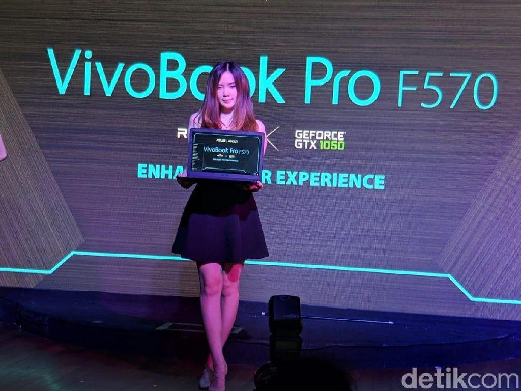 VivoBook Pro F570 Tawarkan Spek dan Desain Oke, Harganya?