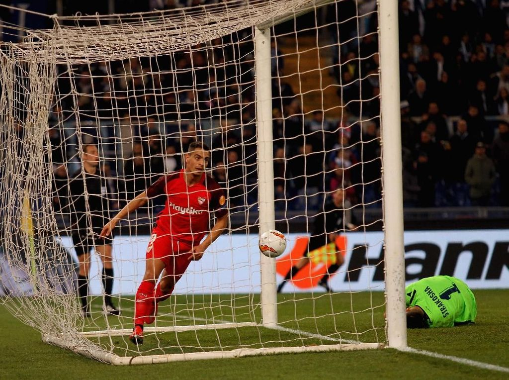 Hasil Liga Europa: Ben Yedder Antar Sevilla Kalahkan Lazio 1-0