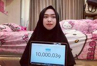 Ria ricis jadi youtuber berhijab pertama yang raih 10 juta subscriber