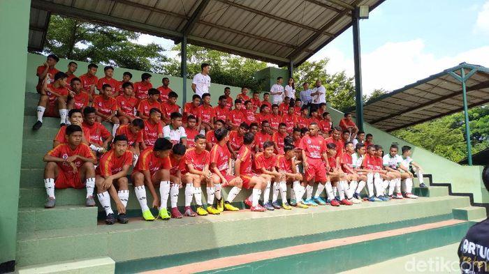 Timnas pelajar U-15 akan menjadi bibit ke Timnas Indonesia U-16. (Mukhlis Dinillah/detikSport)