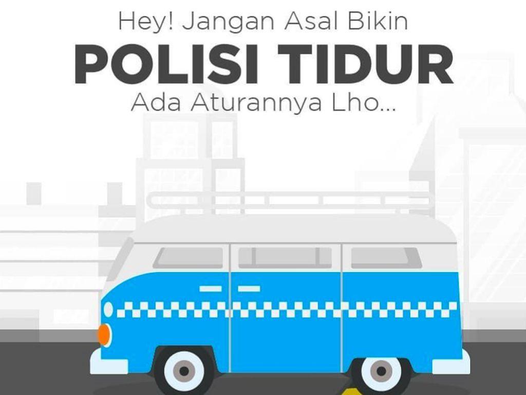 Biar Nggak Asal, Simak Nih Aturan Membuat Polisi Tidur