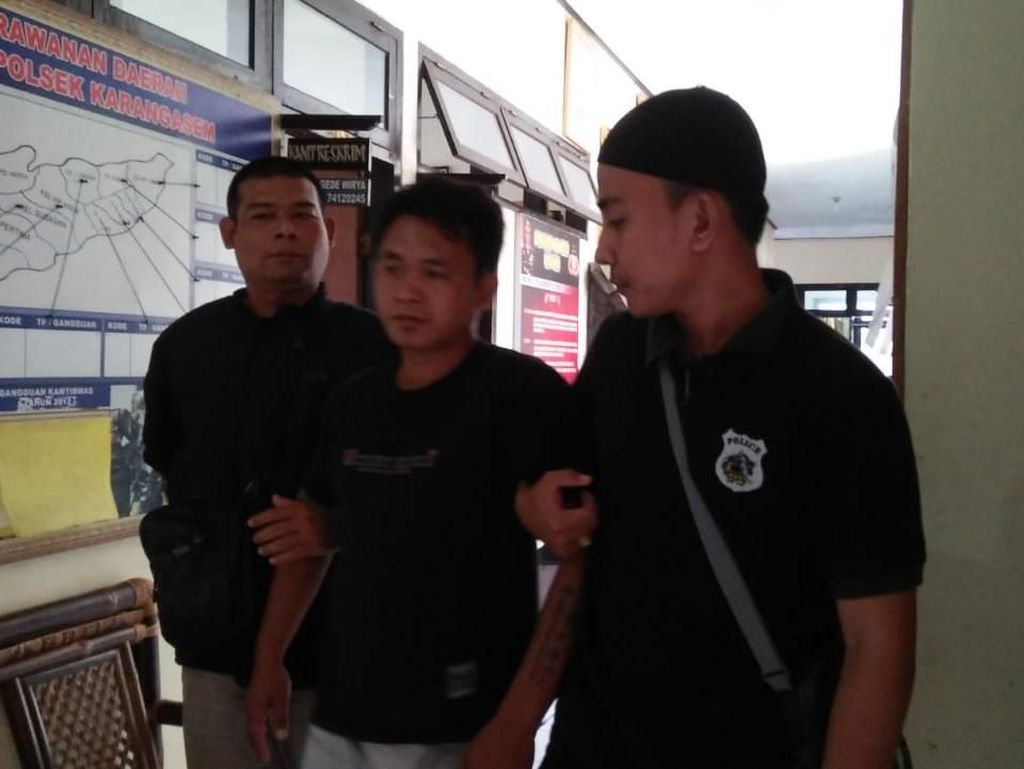 Pemerkosa Gadis SMP di Lapas Bali Ditangkap Saat Lamaran