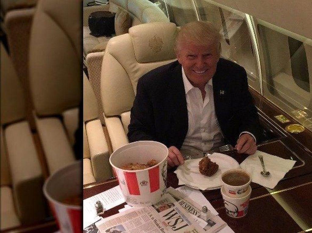 Donald Trump Dimakzulkan, Ketahui Fakta Kuliner Unik Presiden AS Ini