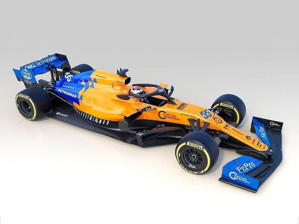 F1 2019: McLaren Pamerkan MCL34 sebagai Mobil Barunya