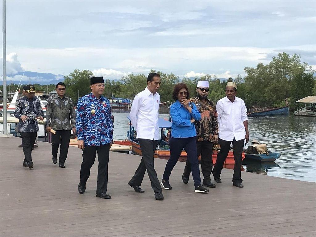 Jokowi Janji Rampungkan Bandara dan Jalur Kereta Api di Bengkulu