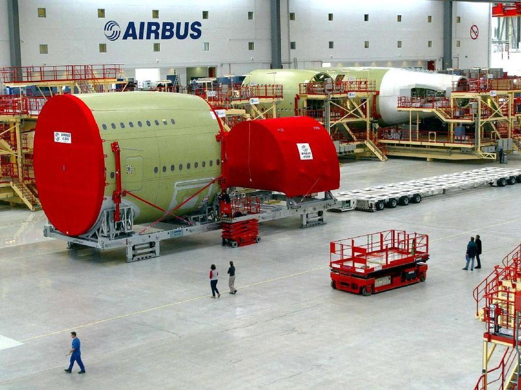 Darurat Wabah Corona, Airbus Perpanjang Penutupan Pabrik di China