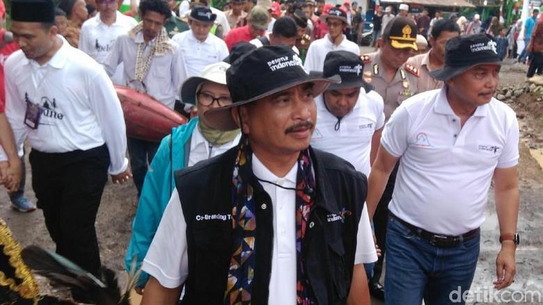 Menpar Arief Yahya bicara soal Tol Trans Jawa di Purworejo (Rinto/detikTravel)