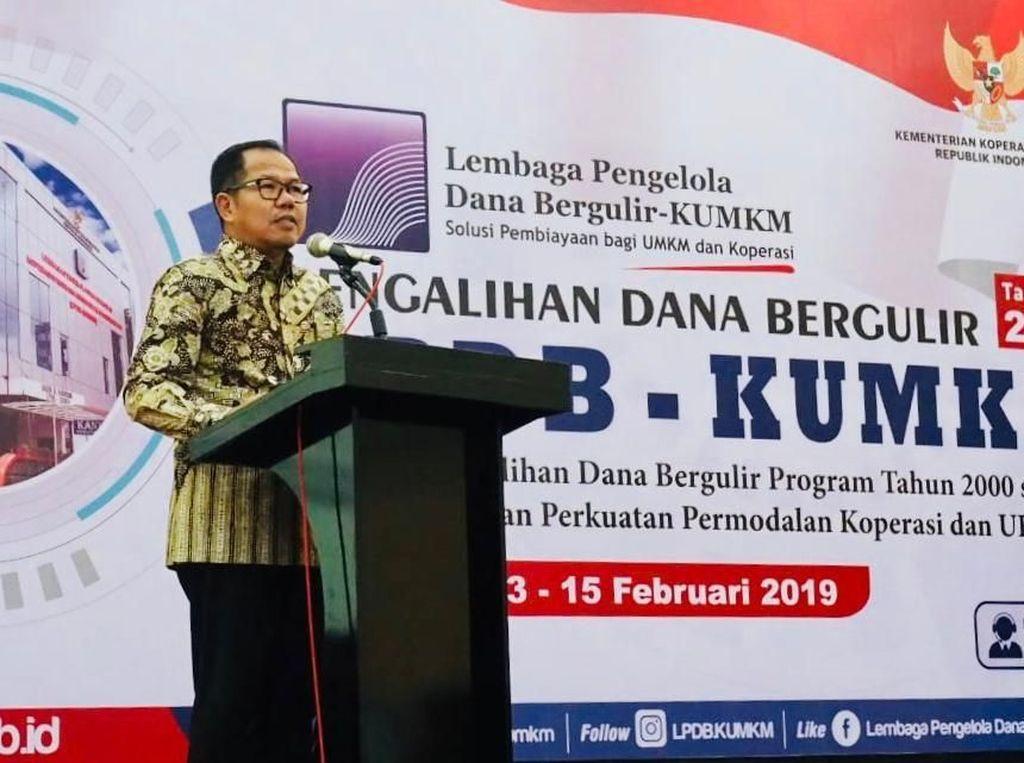 LPDB Targetkan Dana Bergulir Tersalur hingga Rp 1,5 T di 2019