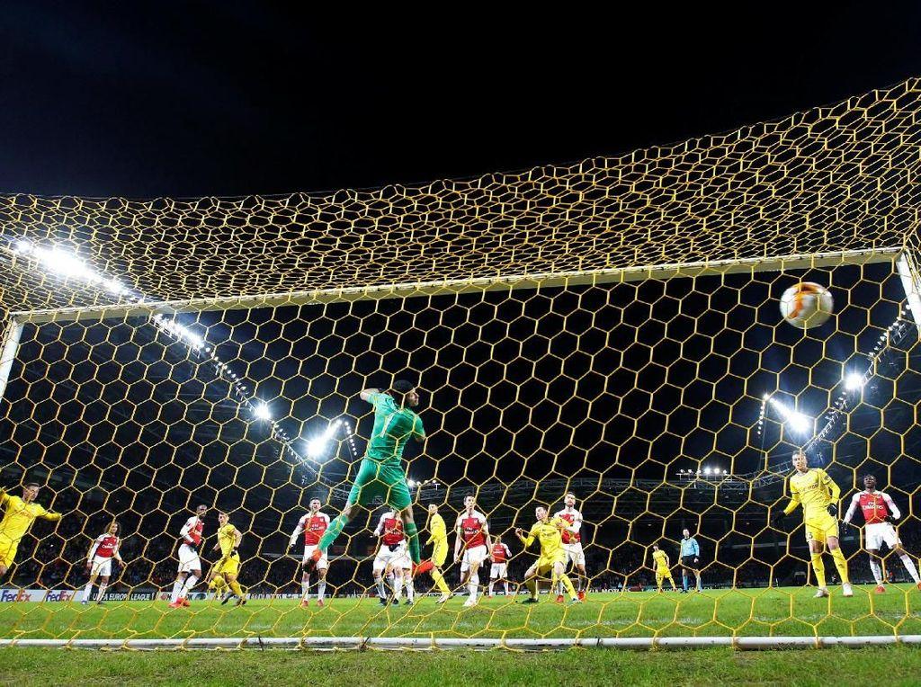 Hasil Liga Europa: Lacazette Dikartu Merah, Arsenal Takluk 0-1 dari BATE
