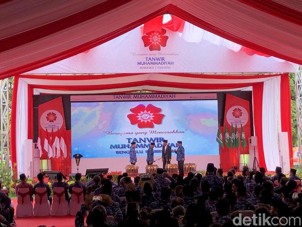 Buka Tanwir Muhammadiyah, Jokowi Kembali Tepis Isu PKI dan Antek Asing