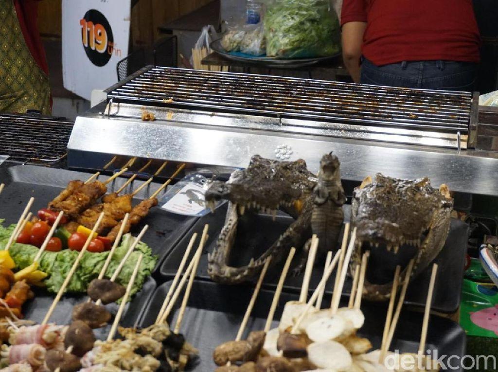 Dijamin Ekstrem, Kuliner Buaya & Belalang di Thailand