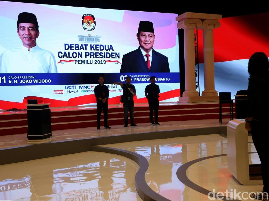 Moderator Debat Capres Ingin Jokowi dan Prabowo Rileks