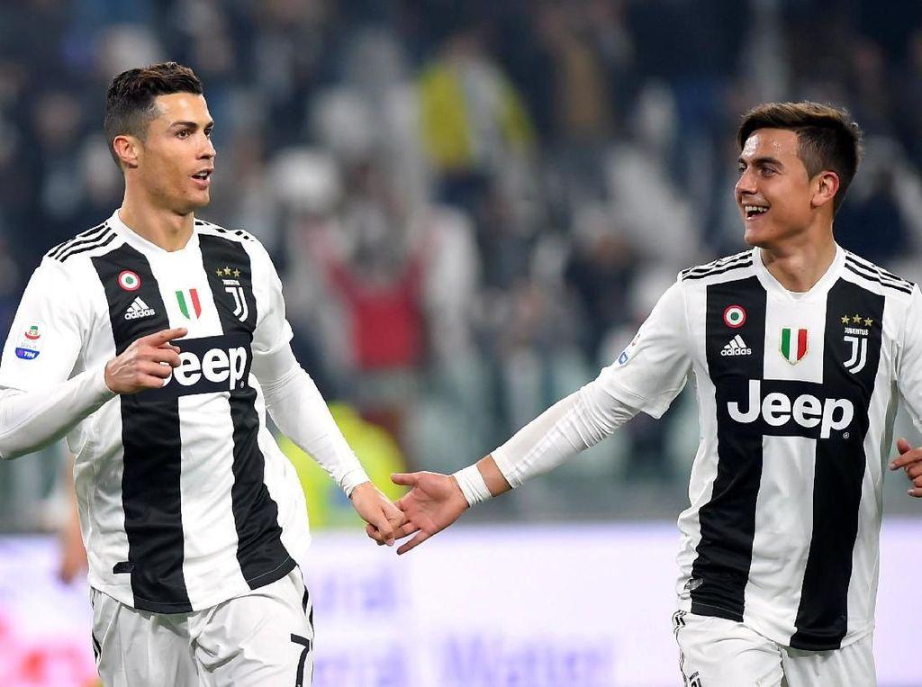 Juventus Mau Relakan Cristiano Ronaldo Pergi, Dybala Jangan