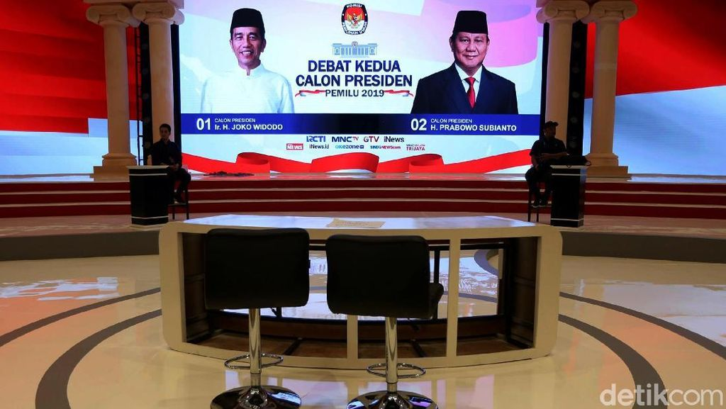 Mengintip Persiapan Debat Capres Kedua di Hotel Sultan
