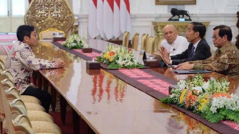 CEO Bukalapak Minta Maaf ke Jokowi di Istana