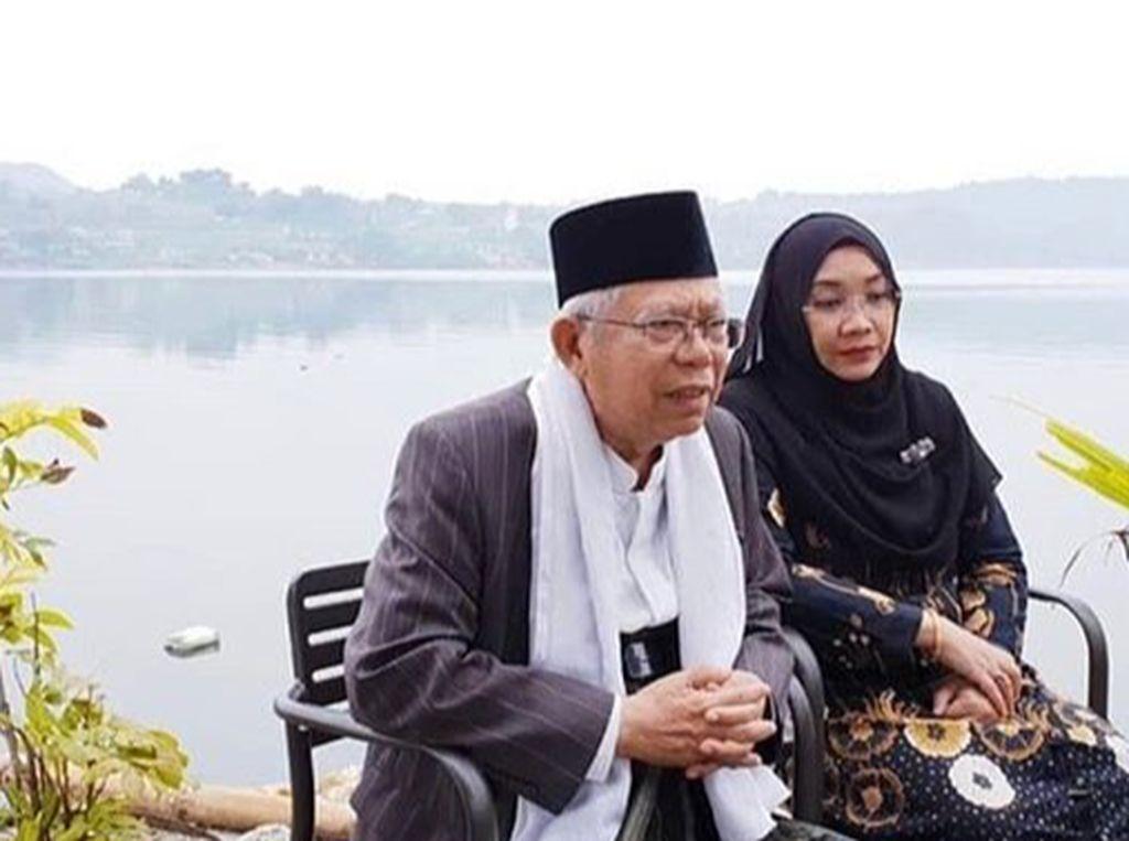 Nasi Goreng Plus Telur Mata Sapi Jadi Menu Sarapan Favorit Maruf Amin