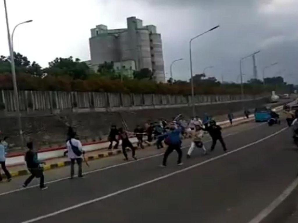 Video Tawuran Ramai di Medsos, 4 Pelajar Sukabumi Ditangkap