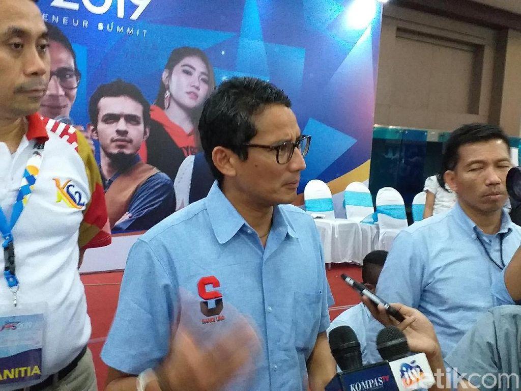 Setuju dengan CEO Bukalapak, Sandi Ingin Dana Riset Ditambah