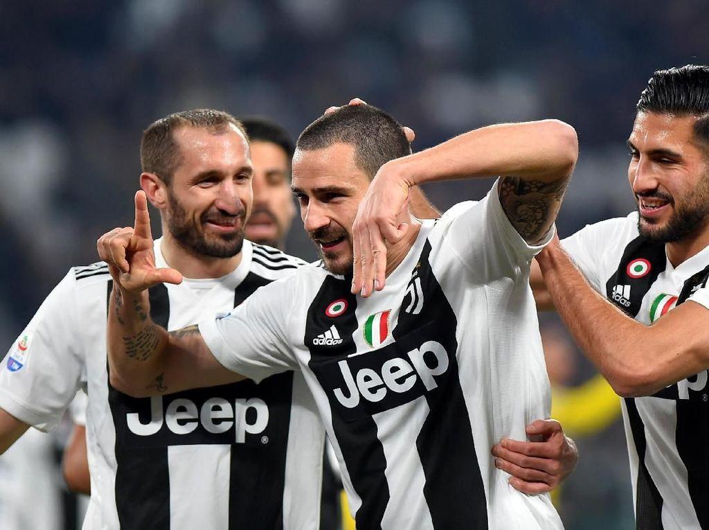 Juventus Bertekad Beri Pukulan Terakhir untuk Napoli