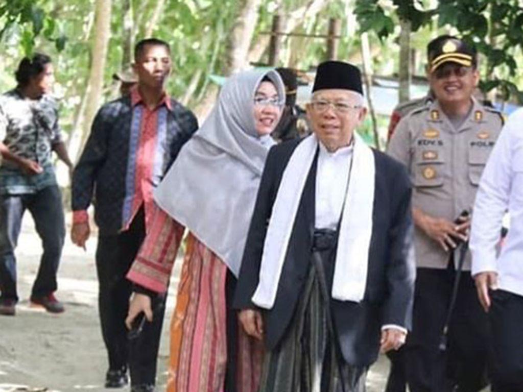 Maruf Amin Dukung Jokowi soal Satu Hari Pakai Sarung, Ini Alasannya