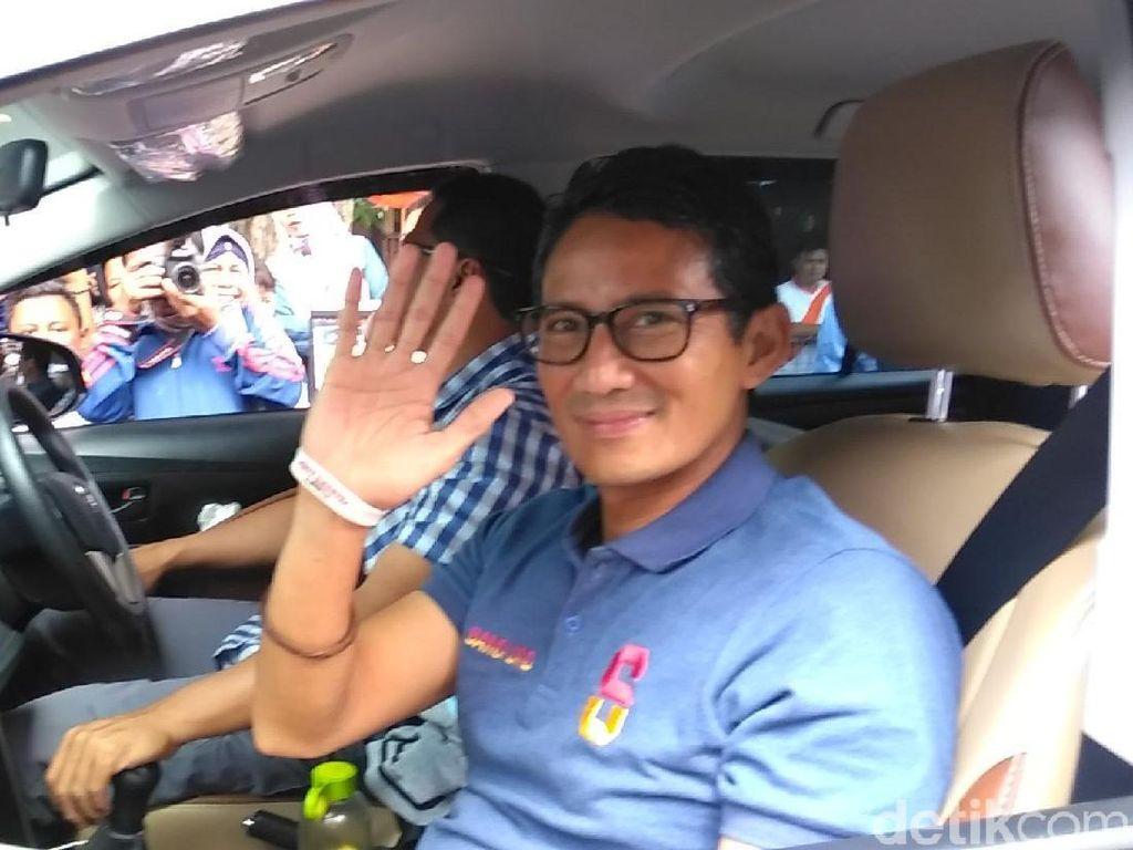 Sandi Tak Sepakat Tol Jokowi Disamakan dengan Pembunuh Bayaran